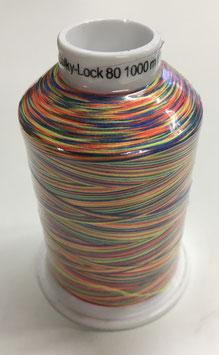Bulky-Lock 80 1000m Multicolour col.9822