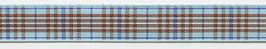 Schottenband Burberry hellblau
