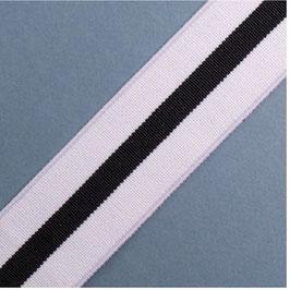Elastik band soft mit Streifen