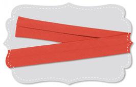 Schregband mandarin red