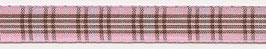 Schottenband Burberry rosa