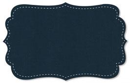 Lyocell uni navy blazer