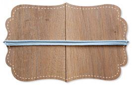 Paspelband hellblau