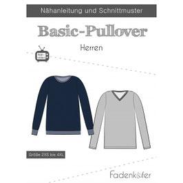Basic Pullover Herren