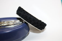 Pompon band mini schwarz