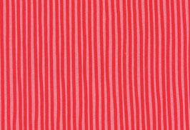 Baumwolle kbA Streifen rosa-rot