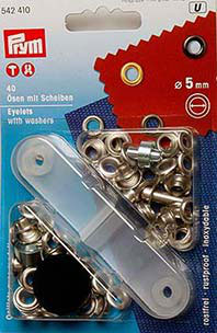 Ösen und scheiben Messing 5mm