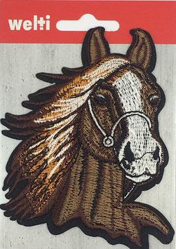 Flick aufnäher Pferd