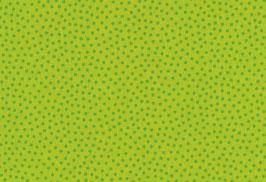 Baumwolle kbA Punkte grün-grün