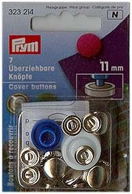 Überziehbare Knöpf 11mm