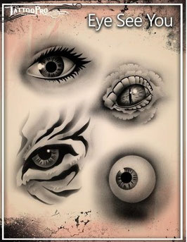 "Stencil ""Eye See You"""