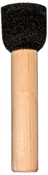 Round sponge brush, 28 mm wide