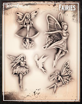 """Stencil """"Fairies"""""""