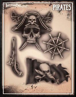 """Stencil """"Pirates"""""""