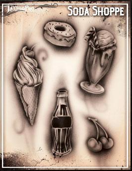 "Stencil ""Soda Shoppe"""