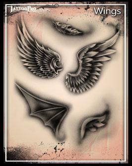 """Stencil """"Wings"""""""