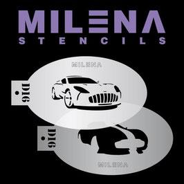 Milena Stencil D16
