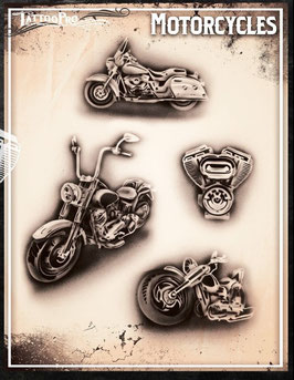 "Stencil ""Motorcycles"""