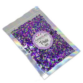 Chunky Glitter Mardi Gras