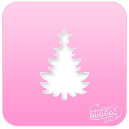 Stencil Christmas Tree small