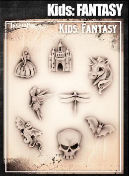 "Stencil ""Fantasy Kids"""