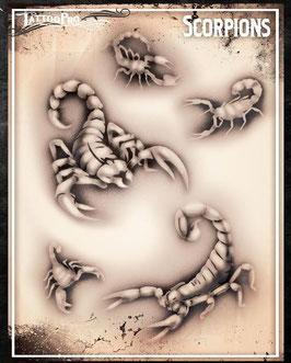 "Stencil ""Scorpions"""