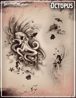 "Stencil ""Octopus"""