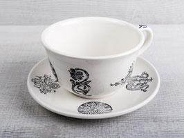 Tee Tasse mit Unterteller