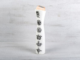 Caraffa dat aua cun culla da dschember / Wasserkaraffe mit Arvenholz Aufsatz 32.5 cm