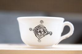 Kaffee Tasse mit Unterteler