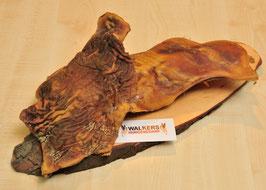 Peau de tête de boeuf, sans poils, plat (2500 g)