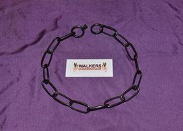 Halskette Edelstahl, 4 mm, schwarz
