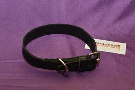 Lederhalsband 30 mm