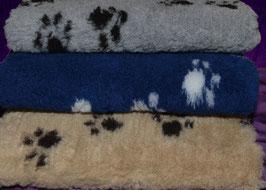 Dry Bed mit Pfotenmuster