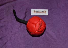 Lederball 10 cm mit Schlaufe