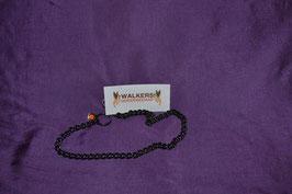 Halskette Edelstahl, 2.5 mm, schwarz