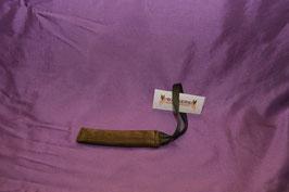 Beisswurst Leder Flach 15 cm mit 1 Schlaufe