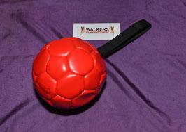 Lederball 14 cm mit Schlaufe