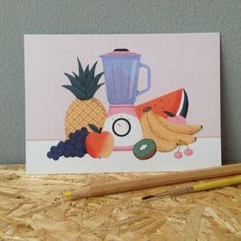 "Postkarte ""Obst"""