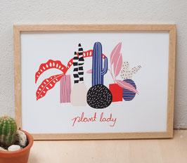 "Druck ""plant lady"""