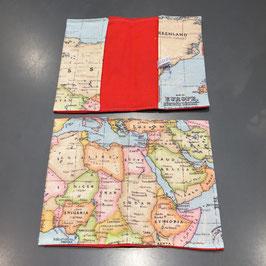 """Reisepass-Hülle """"Weltkarte"""""""