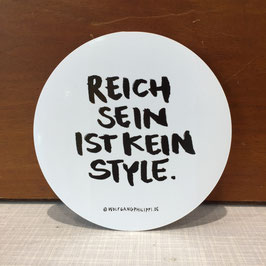 Statement-Sticker groß