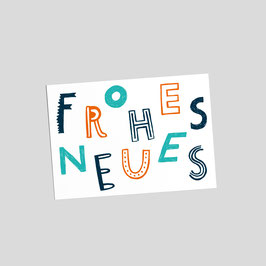 """Postkarte """"Frohes Neues"""""""
