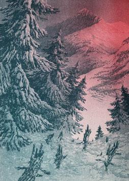 """Risoprint """"Schneelandschaft"""""""