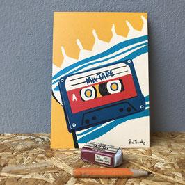 """Postkarte """"Mixtape"""""""