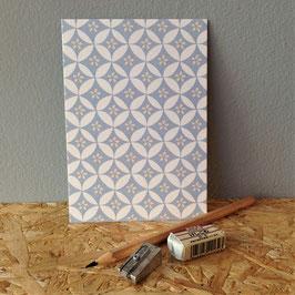 "Postkarte ""Blütenstern"""
