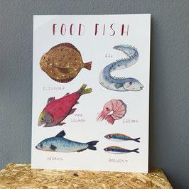 """Poster """"food fish"""""""