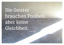 """Postkarten-Serie """"Freiheit"""""""