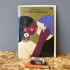 "Klappkarte ""Happy Couple"""