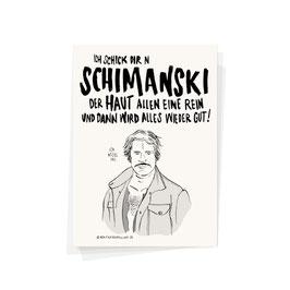 """Postkarte """"Schimanski"""""""